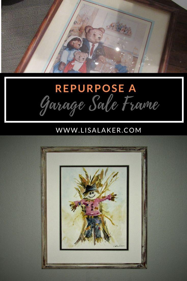 Antique White Frame | Art & Craft Tutorial Favourites | Pinterest