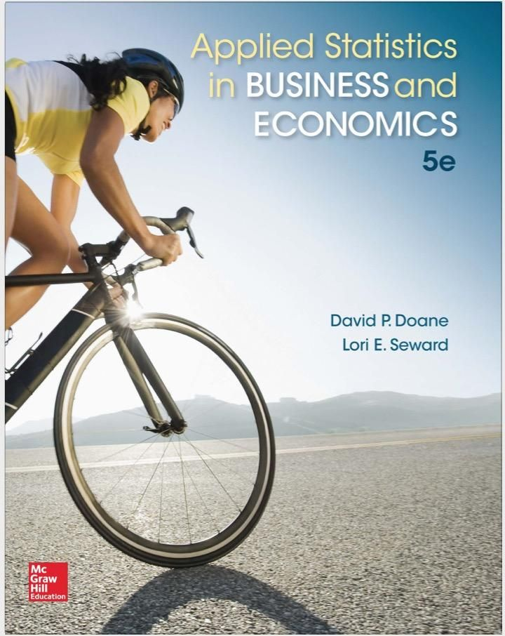 Applied statistics in business and economics 5th edition textbook applied statistics in business and economics irwin statistics fandeluxe Images