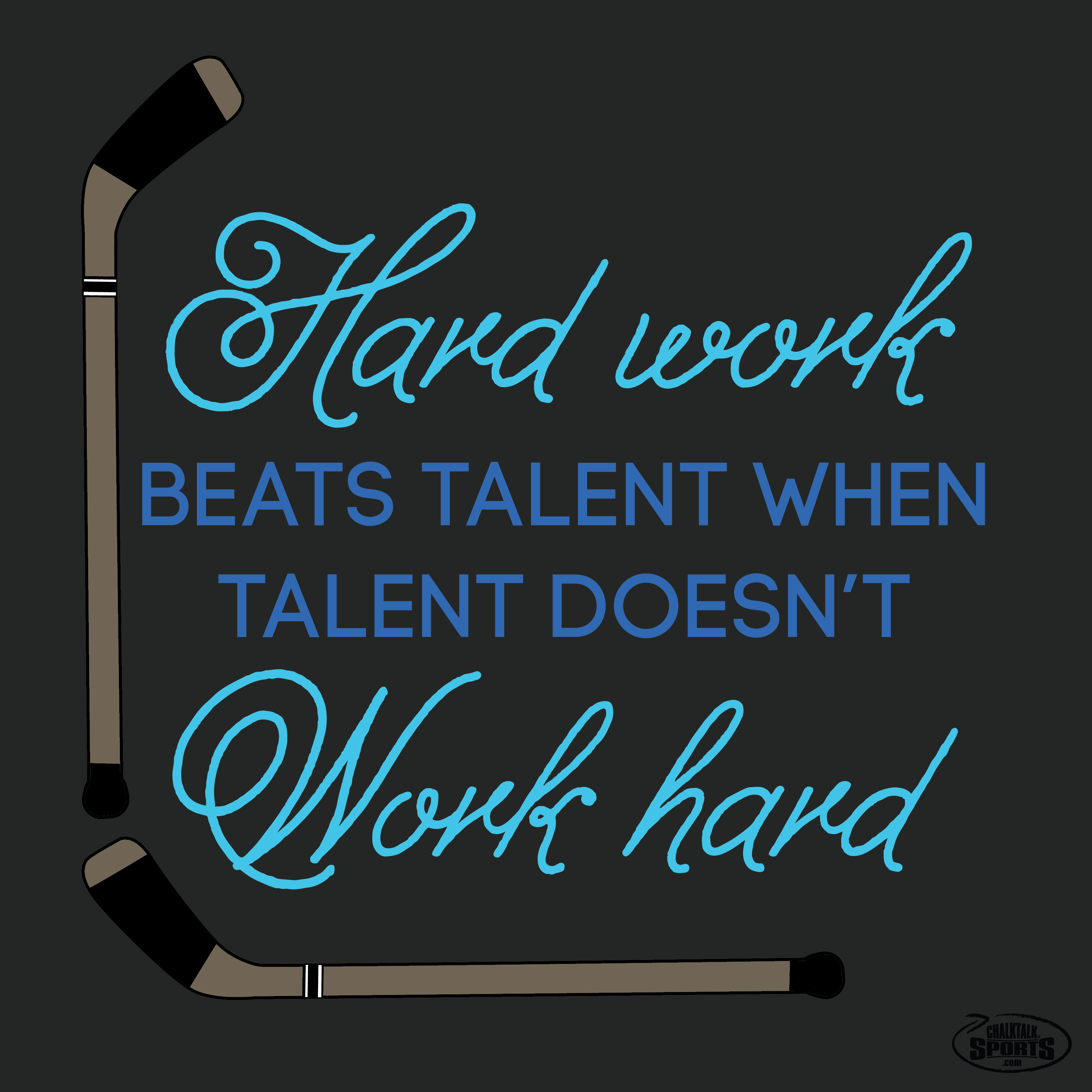 hard work beats talent when talent doesn t work hard never give hard work beats talent when talent doesn t work hard never give up on your goals and always push yourself to your limits you will be surprised when you
