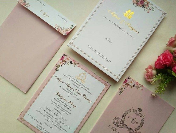 Contoh Undangan Pernikahan Simple Dan Elegan Soft Color Wedding
