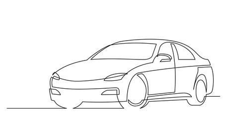 vector car line art png