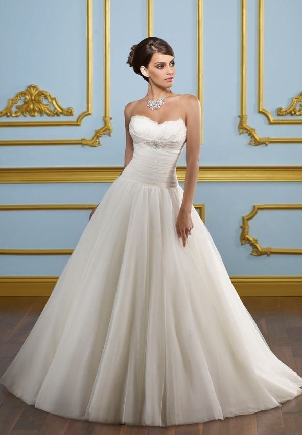 Simple Organza Wedding Dresses for Simple but Very Elegant Look ...