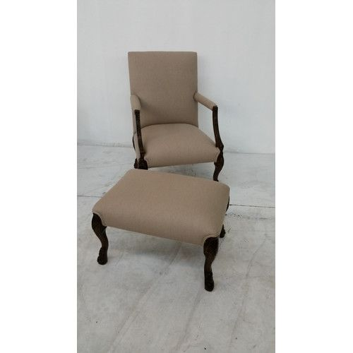 Found it at Wayfair - Cabriat Lounge Chair and Ottoman