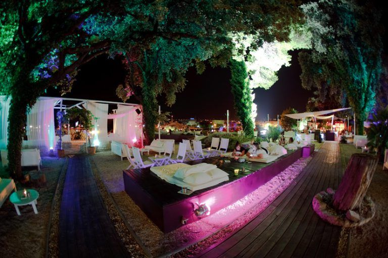 The Garden Bar - Zadar Photo credit www.inyourpocket.com UK Travel Room Blog