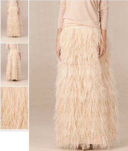 930e854d5 Love This Skirt Feather Maxi Skirt Massimo Dutti Zara | Current ...
