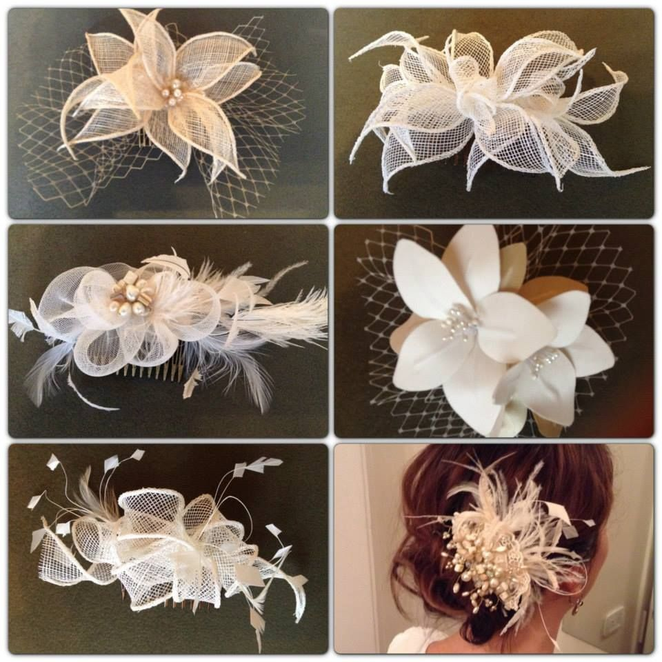 nueva tendencia se vienen las plumas!!! tocados hechos a mano con detalles en plumas #tocados #plumas #artesanales #novias #tendencia