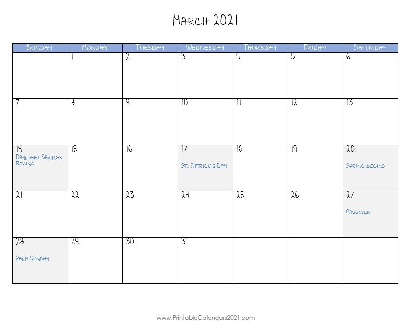 20+ Calendar 2021 Mar - Free Download Printable Calendar ...