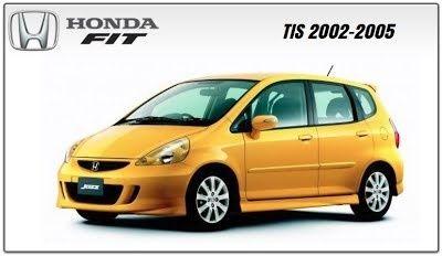 Honda Fit 2002 2005 Tis Repair Service Manual Fit Honda Fit