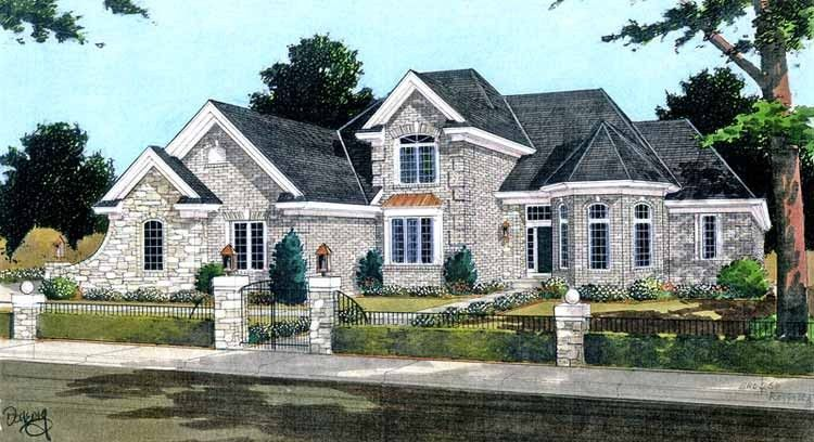 Country Style House Plan 3 Beds 2 5 Baths 2052 Sq Ft Plan 46 900 Country Style House Plans House Plans Southern House Plans