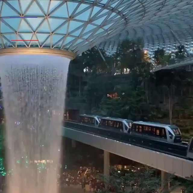 Jewel Changi Airport, Singapore 🇸🇬 #blogygold #magazine #artofinstagram #love #instagood  #instablackandwhite #awesome_earthpix #fashion #beautiful #happy #follow #me #summer #art #girl #cute #smile #cool #lol #funny #lifestyle #flowers #running #money #food #technology #yoga, #fitness, #travel<br>