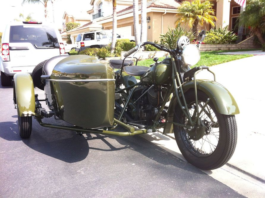 1940 Indian Chief Cav With Sidecar Rig Indian Motorcycle Military Motorcycle Motorcycle Sidecar
