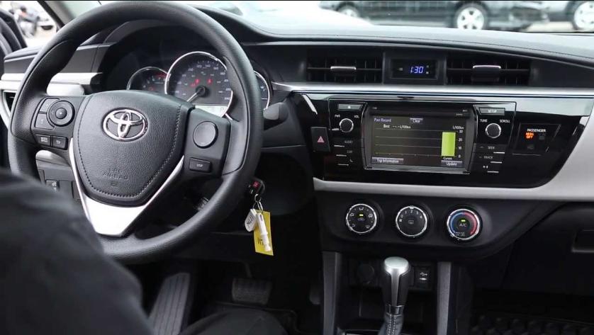 2018 Toyota Corolla Interior Style Design