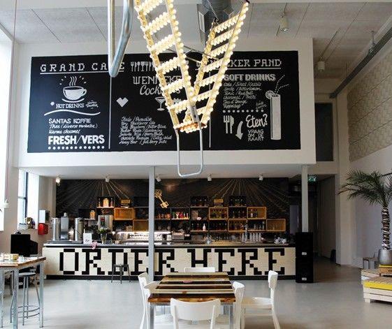 die besten 25 restaurant inneneinrichtung ideen auf pinterest restaurant design caf design. Black Bedroom Furniture Sets. Home Design Ideas