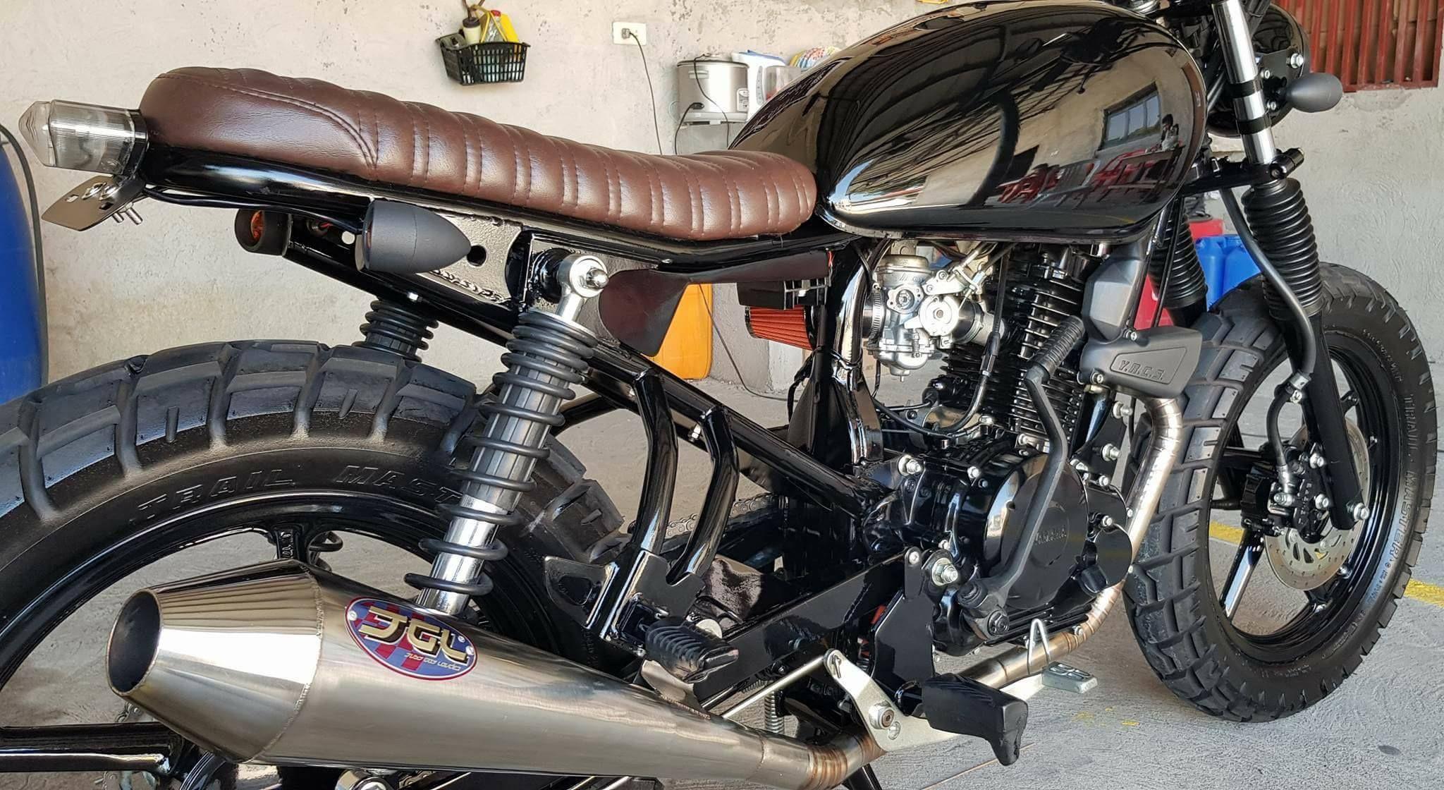 Pin by Richard Is on yamaha sz16 Scrambler motorcycle