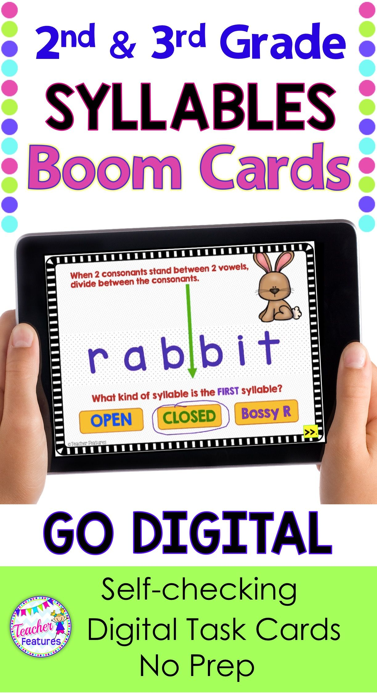 Boom Cards 2nd Grade
