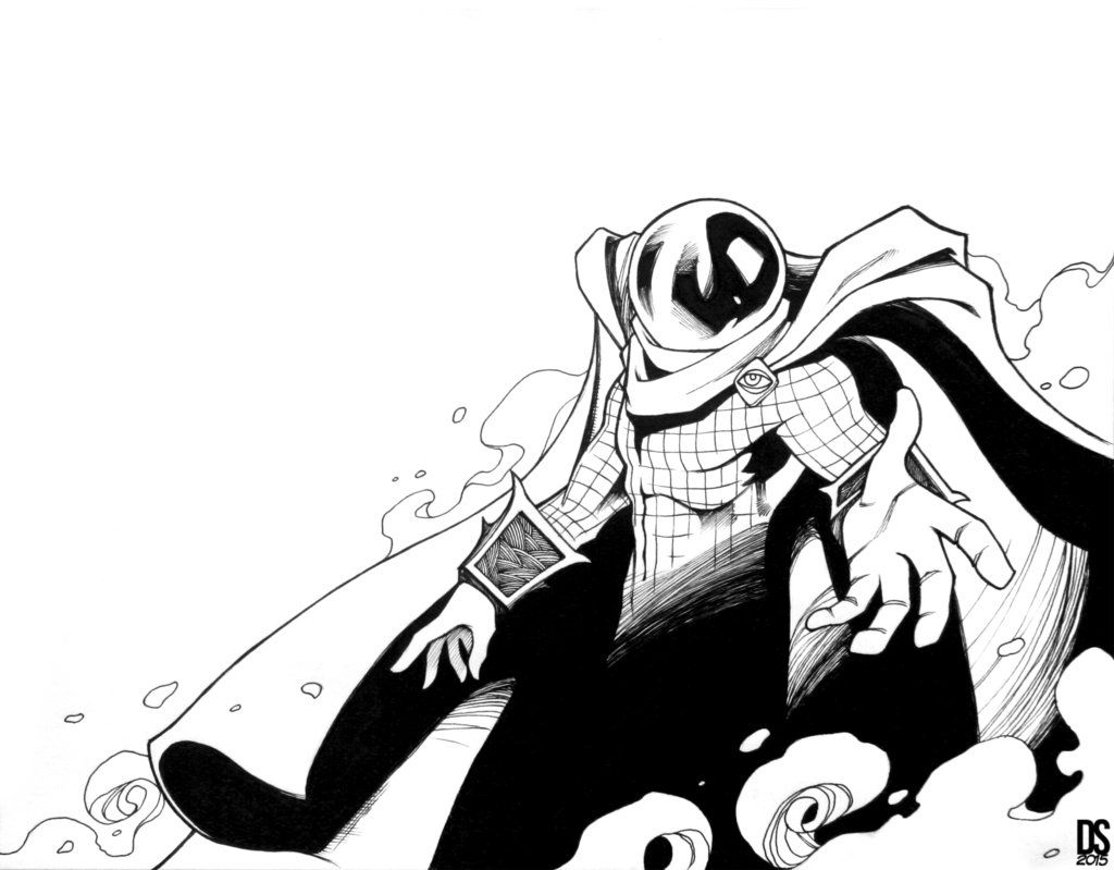 mysterio spiderman coloring pages - photo#20