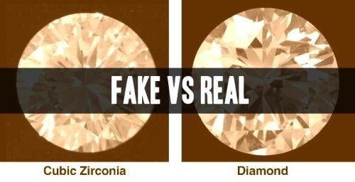 How To Tell If Diamonds Are Real Or Fake Fake Diamond Fake Engagement Rings Fake