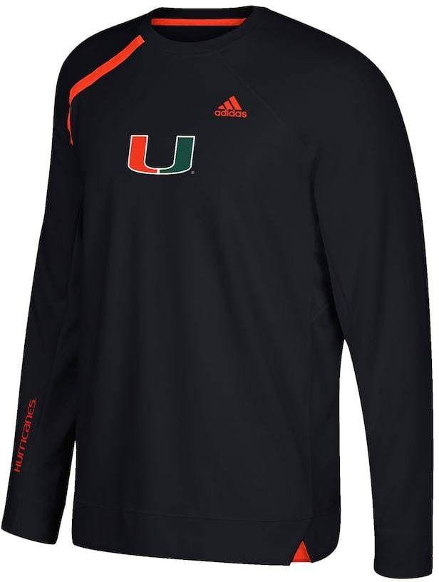 Miami Hurricanes T-Shirt Men/'s Training Champion NCAA