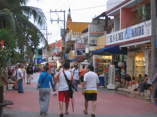 Outdoor Markets Playa Del Carmen Mexico Fifth Avenue One Of My