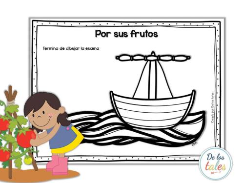 Por Sus Frutos Paz De Los Tales Iglesia Ninos Fruta Paz