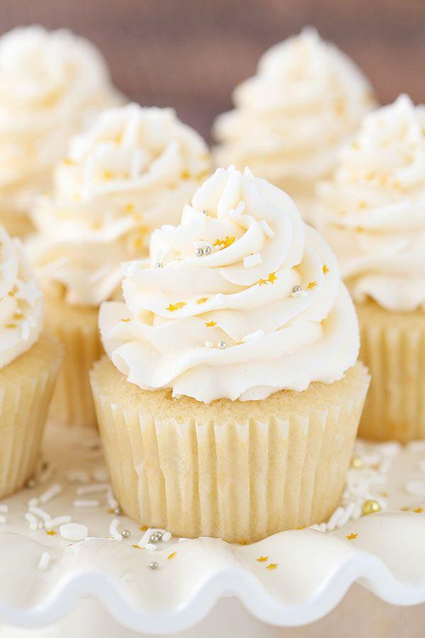 Yellow vanilla cupcake recipes