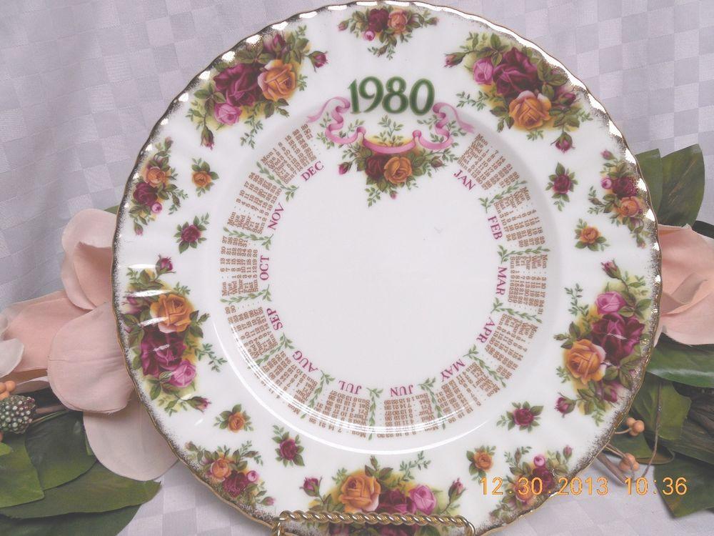 Royal Albert China Dinnerware England Old Country Roses 1980