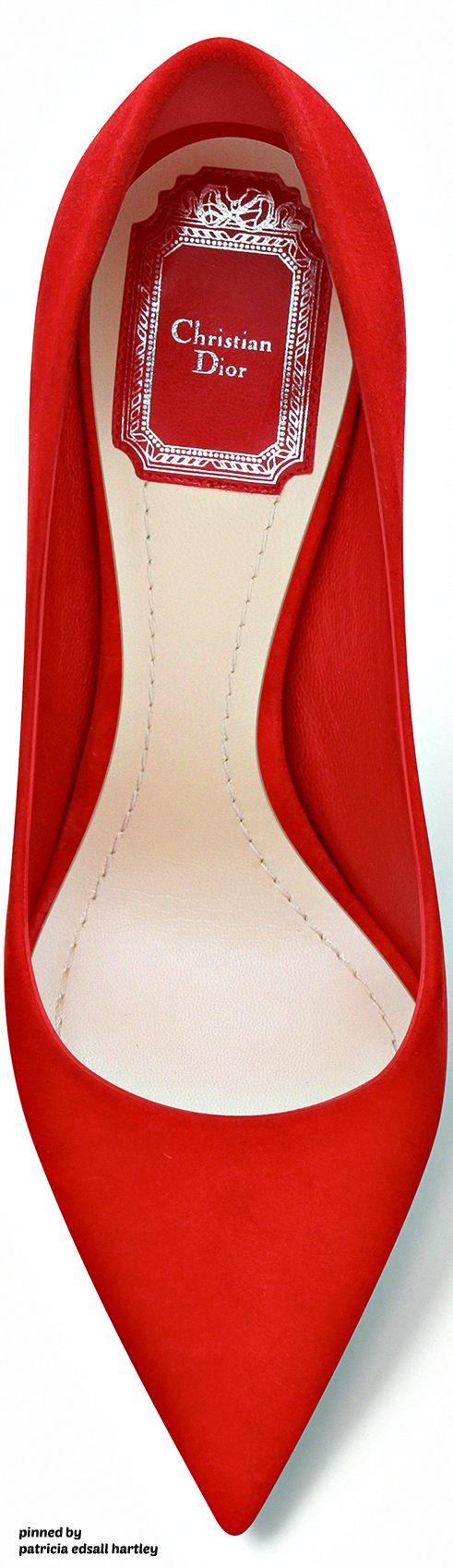 e88cb7efdc5 Rosamaria G Frangini | High Shoes | Red Desire | Dior Red Suede ...