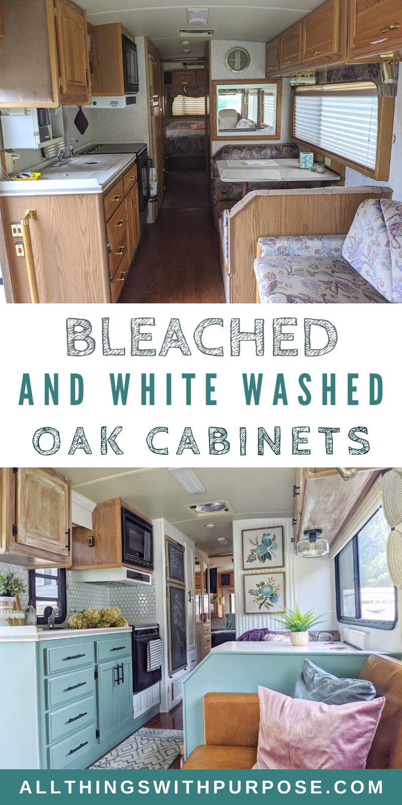 Diy Farmhouse Look Bleached And White Washed Oak Cabinets In 2020 White Washed Oak Oak Cabinets Furniture Makeover Diy Dresser