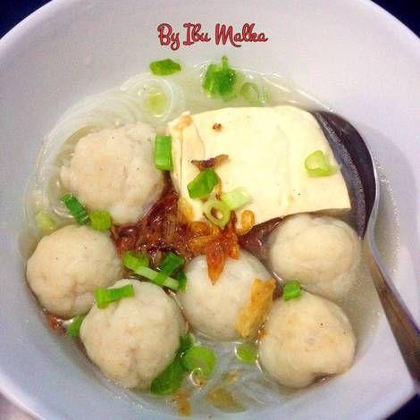 Resep Sup Bakso Ikan Sup Bakso Resep Sup Resep Seafood