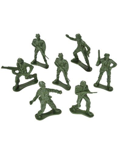 ACTION FORCE MILITARY PLAY SET 50 ARMY MEN TOY SOLDIER PIECES NEW!