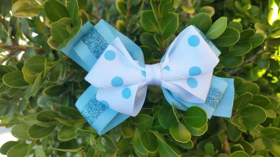 Check out this item in my Etsy shop https://www.etsy.com/listing/450027030/4-polka-dot-and-stripe-hair-bow