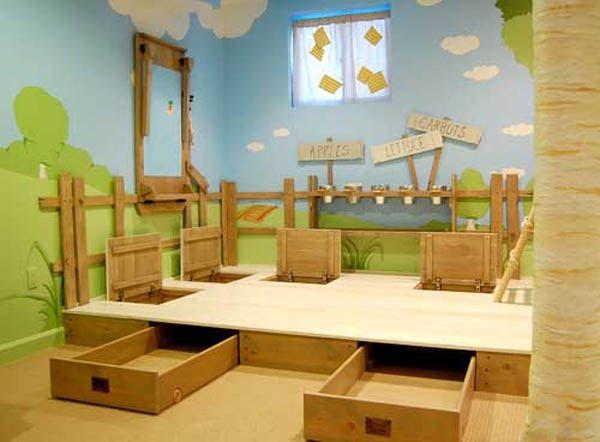 kinderzimmer thema ideen für kindezimmer einrichtung ländlich - wohnideen 30 qm