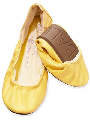 53831133fbf4 Flats are fashionable  folding versions are convenient to carry and take  the pain out of partying