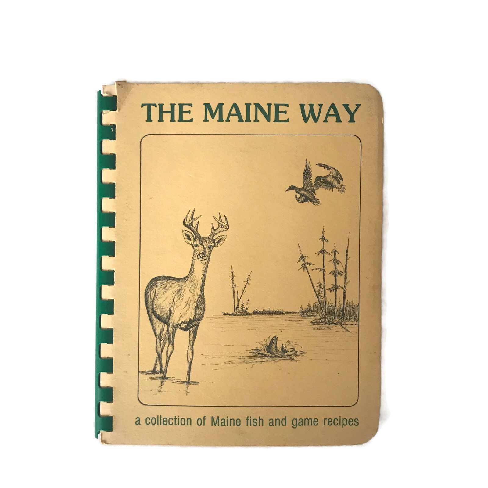 Vintage Cookbook The Maine Way Fish and Game Recipes