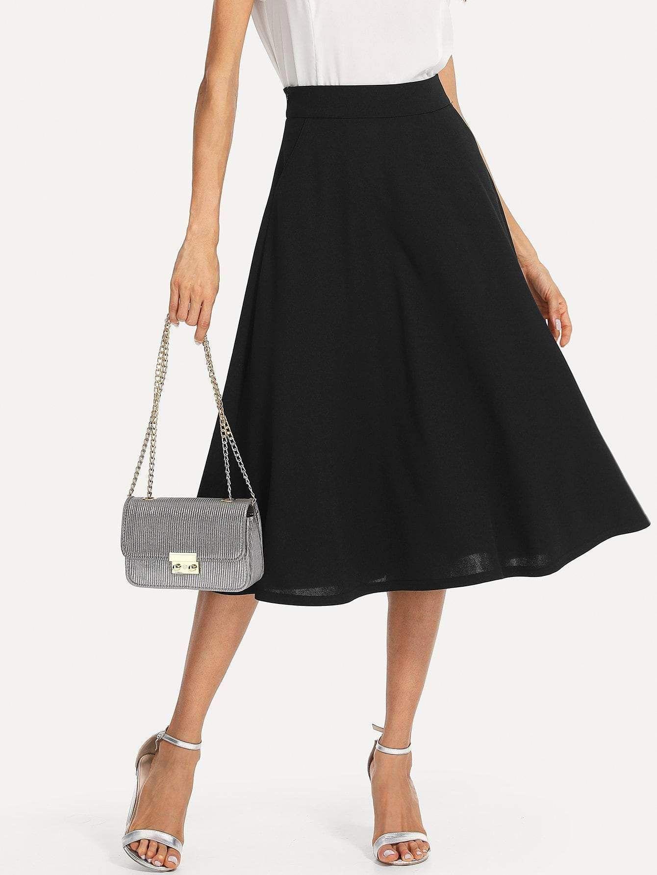 Denim Mini Skirts