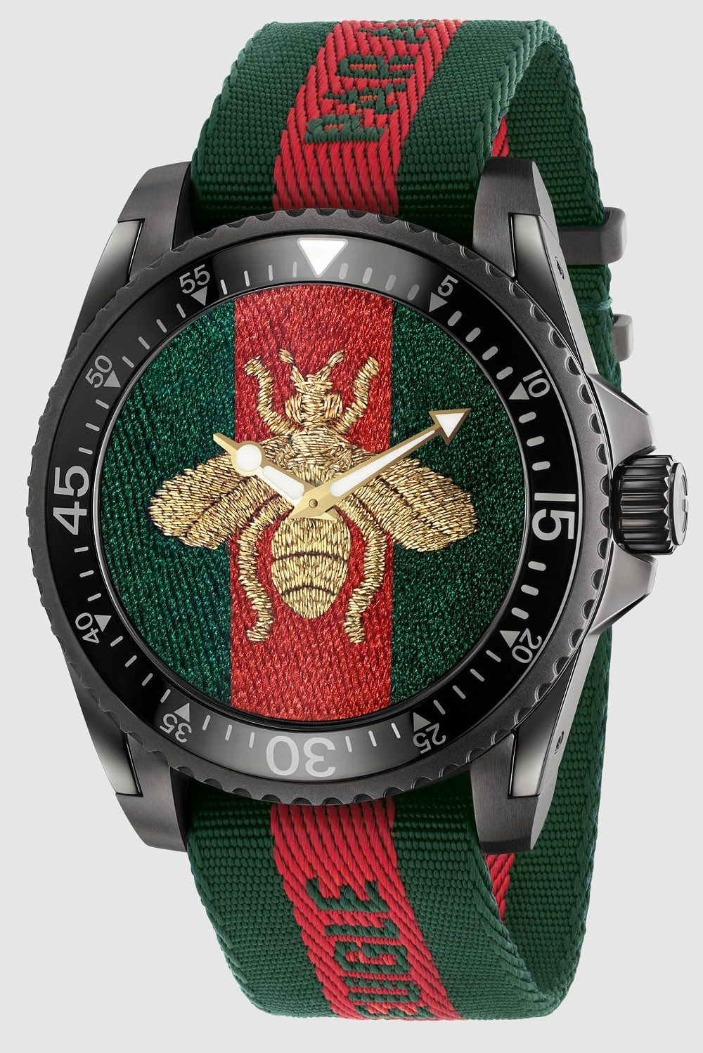 Gucci Dive Watches For 2017 With Embroidery & Rubber Animal Dials Watch Releases