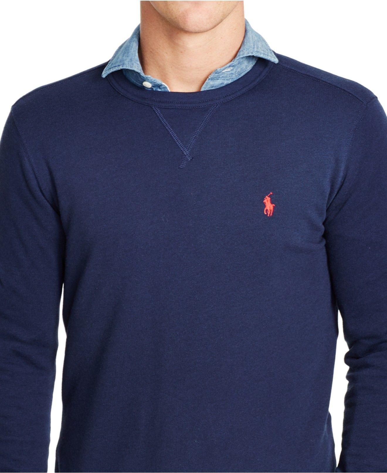 Terry lightweight sweatshirt - Blue Polo Ralph Lauren Clearance Cost 3V0Go2tHb