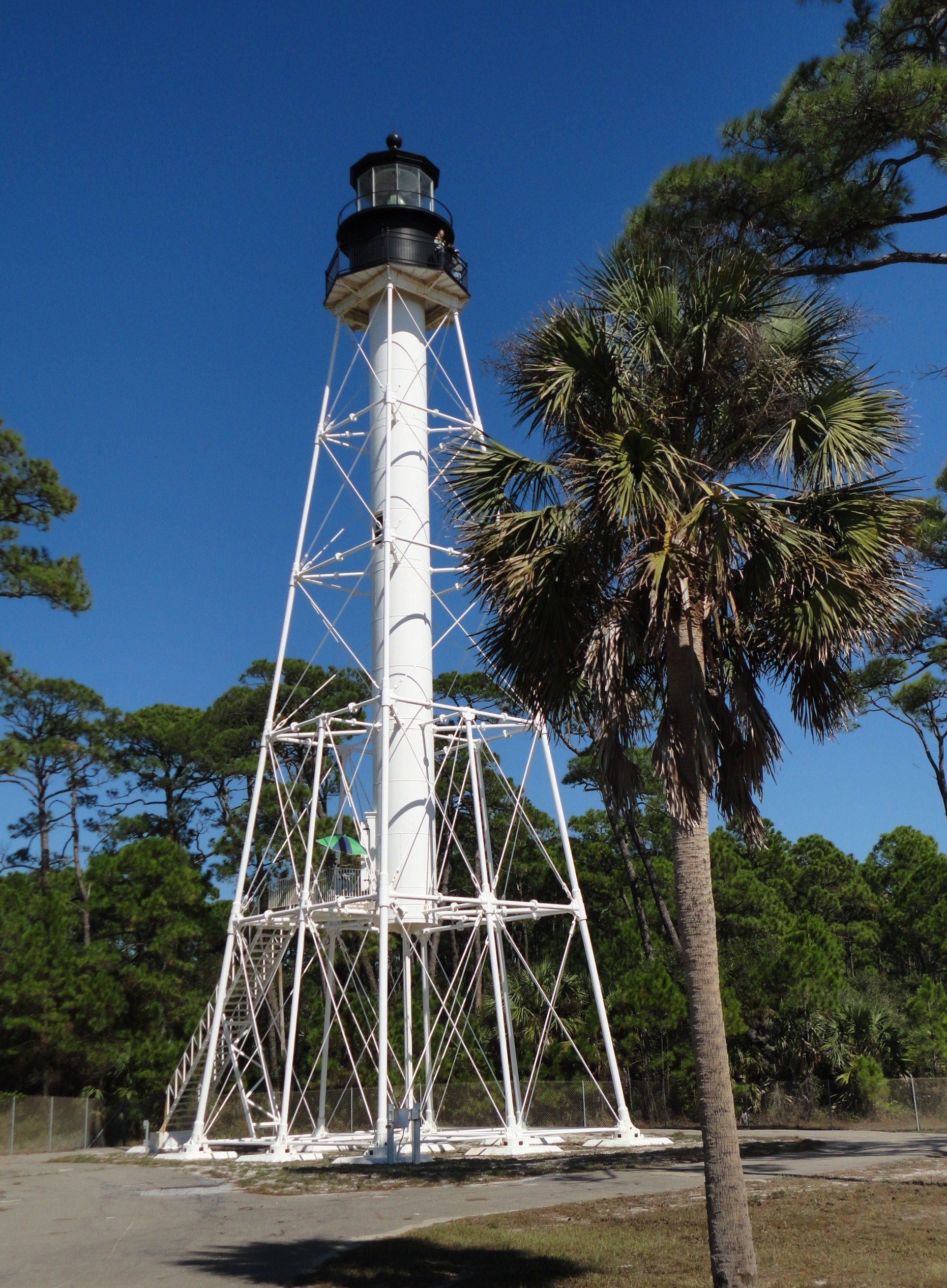 Cape san blas lighthouse now being threatened by erosion