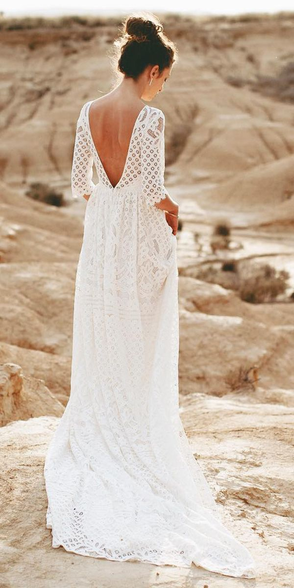 Bridal Guide: 27 Country Wedding Dresses | Boho Wedding Dresses ...
