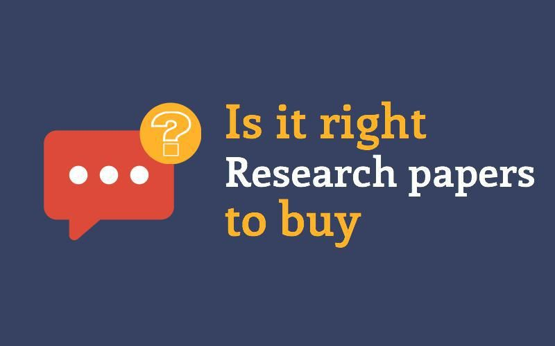 How to purchase a research paper online