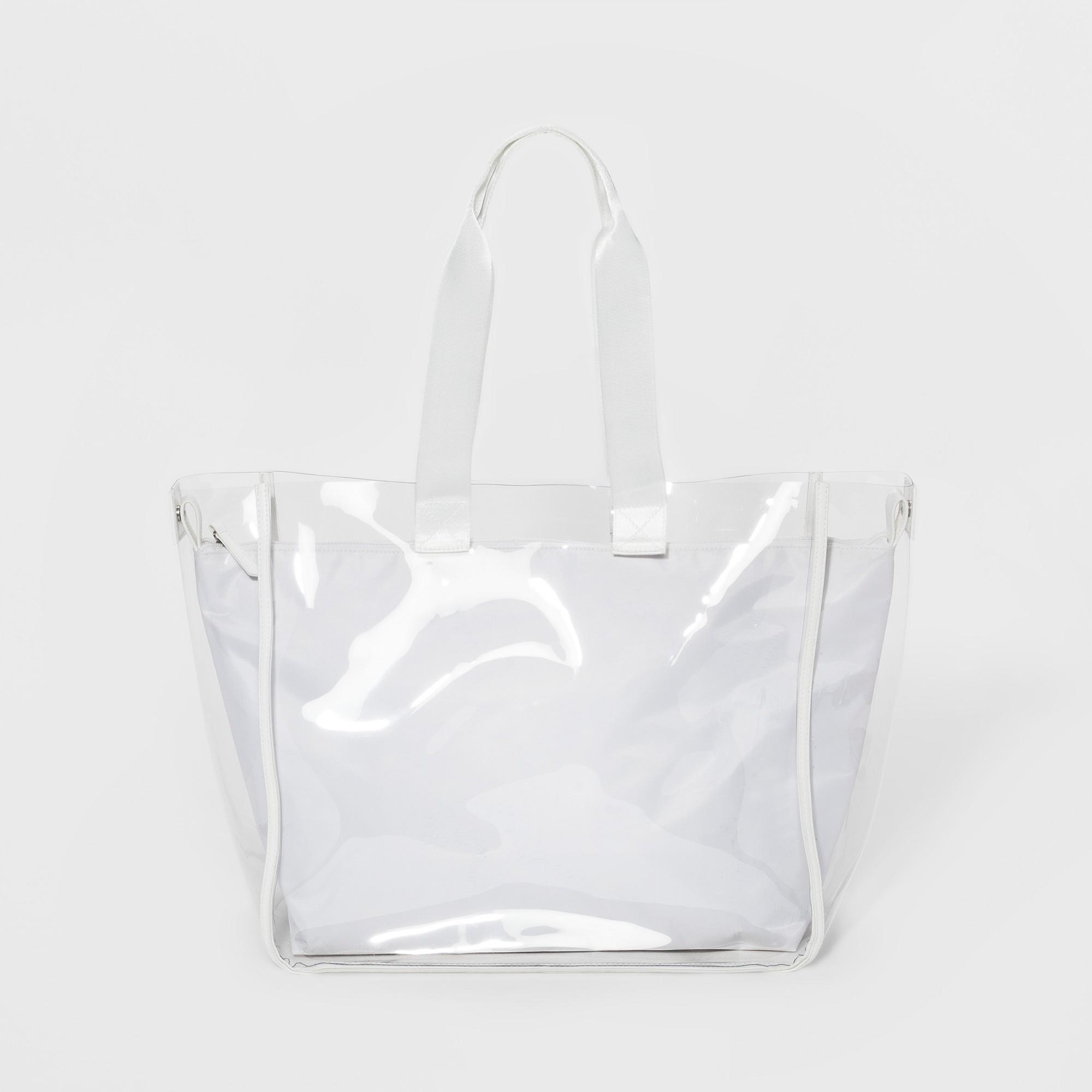 f60e5a7ae5 Keep A Secret Jelly Tote Handbag - Mossimo Supply Co. Clear ...