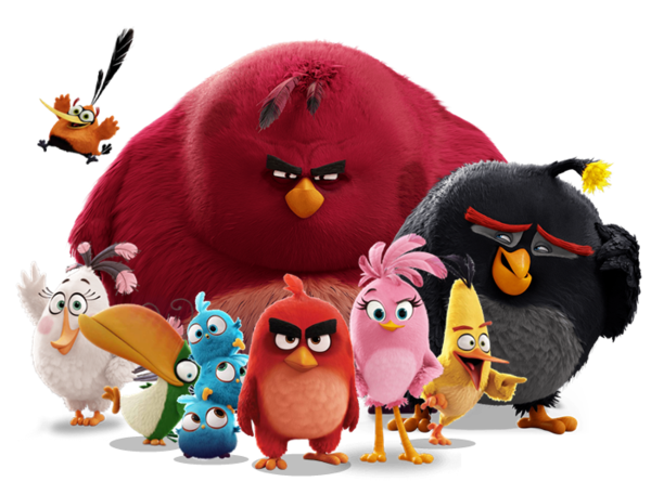 Angry Birds Movie Characters: Angry Birds Movie Flock By Jeremiekent13.deviantart.com On