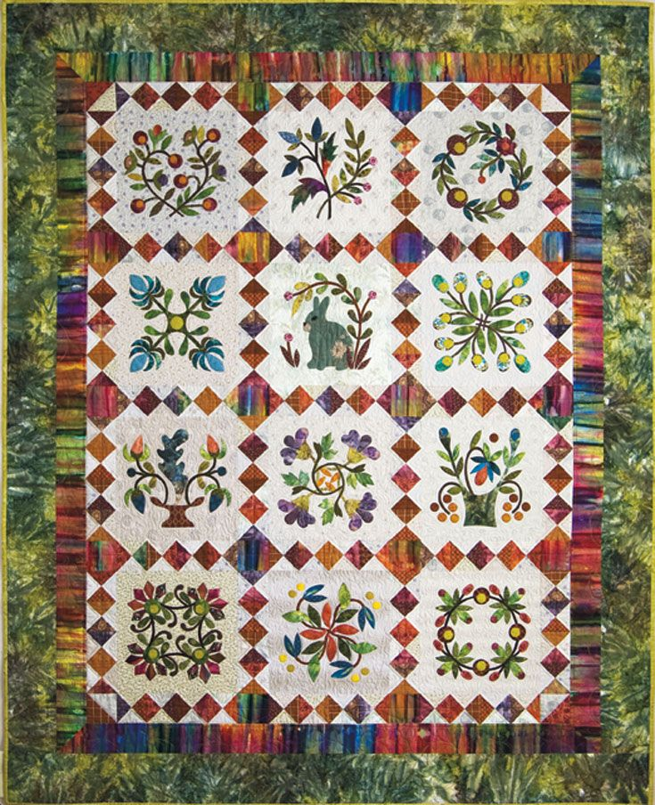 Hop To It Download Laundry Basket Quilts Flower Quilts