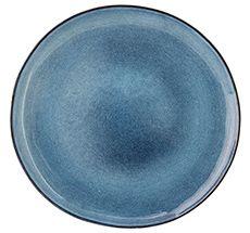Bloomingville Porzellan Teller Sandrine Blue 28cm