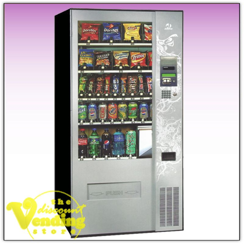 New Jofemar Easy Plus Combo Vending Machine 5 395 Fully