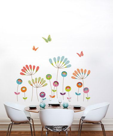 Take a look at this Pompom Wall Decal by ADzif on #zulily today!