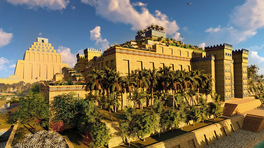13a7364d3fe6cb46af0c9773d5d053b0 - Seven Wonders Of The Ancient World Hanging Gardens