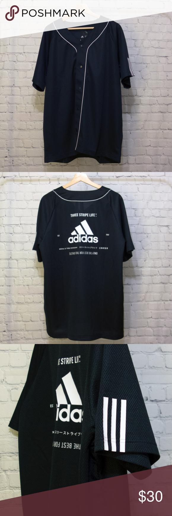 adidas Mens Sport 2 Street Jersey | Adidas men, Athletic fashion ...