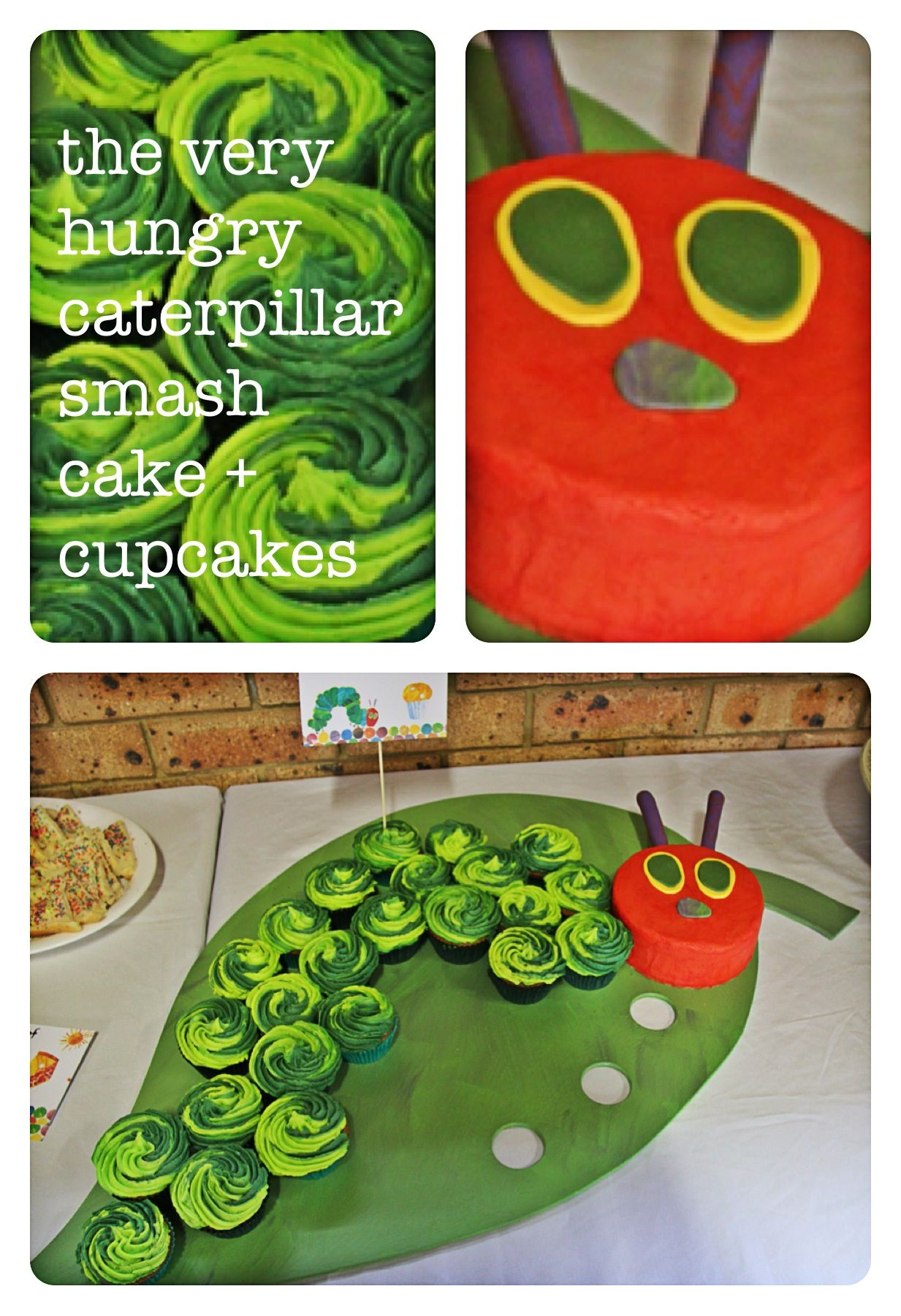Pin By Olivia Horeczko On First Bday Hungry Caterpillar Party Hungry Caterpillar Birthday Hungry Caterpillar Cupcakes