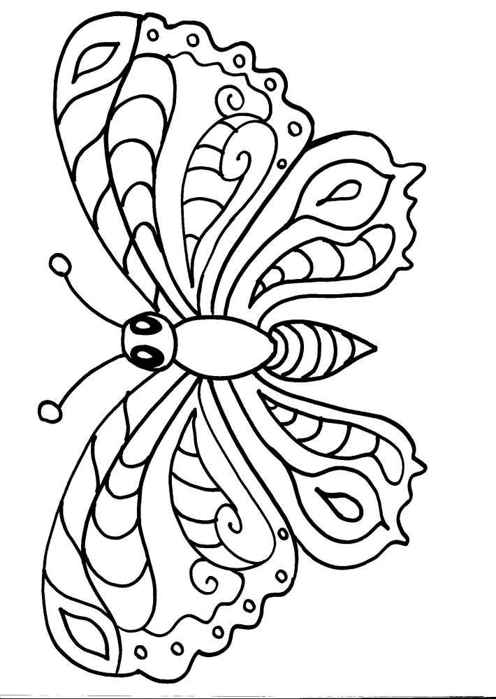 Disegni gratuiti da colorare disegni immagini e animali for Sole disegno da colorare